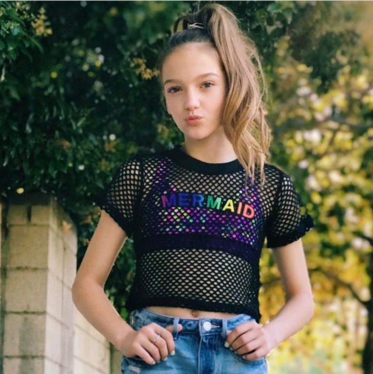 Beautiful child actress Jayden Bartels